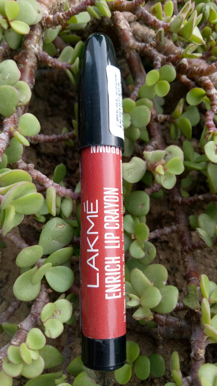 CINNAMON BROWN 09 BY LAKME ENRICH LIP CRAYON