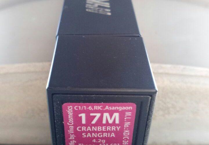 NYKAA CRANBERRY SANGRIA 17M