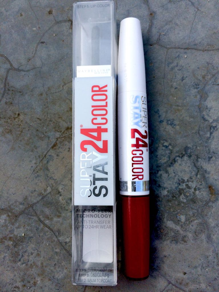 MAYBELLINE SUPER STAY KEEP IT RED 035