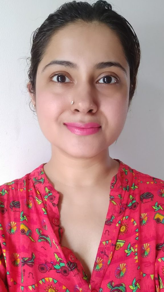 LAKME 9 to 5 WEIGHTLESS MATTE MOUSSE LIP & CHEEK COLOR PINK PLUSH