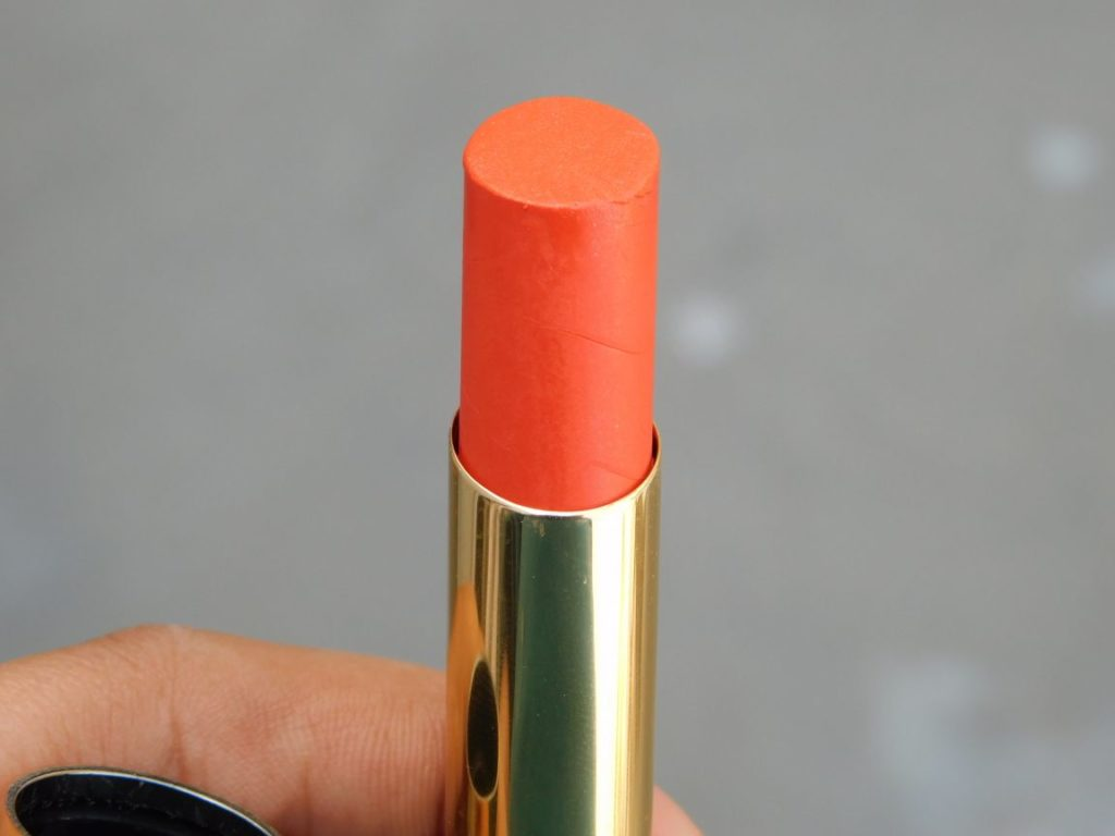 05 DEWY ORANGE LAKME ABSOLITE ARGAN OIL LIPCOLOR